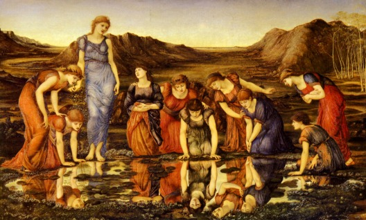Burne Jones, The Mirror of Venus