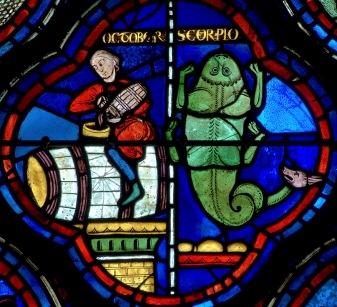 October Scorpio Chartres